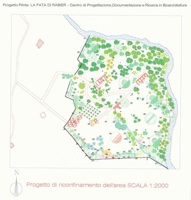 Planimetria dell'area interessata al progetto